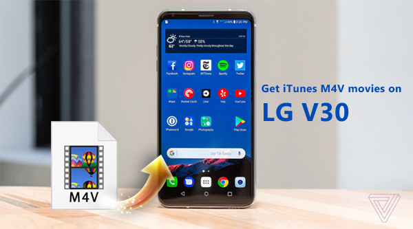 How to sync iTunes movies to LG V30 easily?